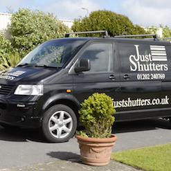 Why Just Shutters - Branded Van