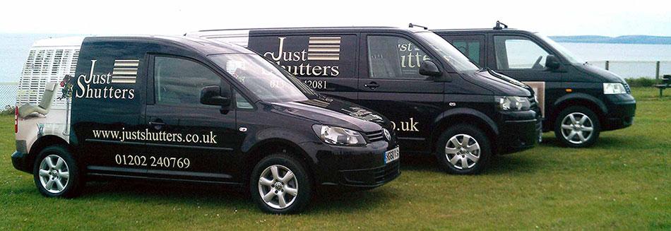 3 Just Shutters Vans